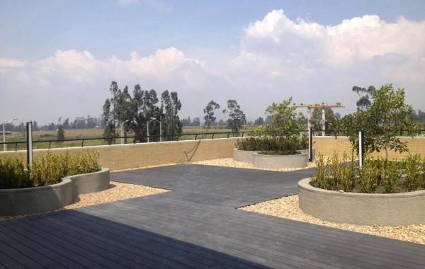 Jardineras y Cubiertas Verdes